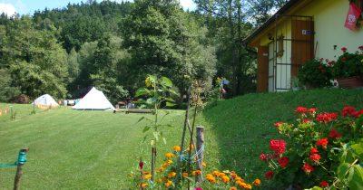 Camping Paradijs - ubytování Jižní Čechy