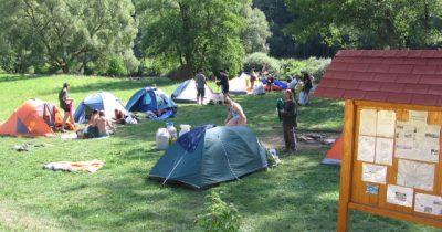 Ubytování kemp Paradijs, Jižní Čechy