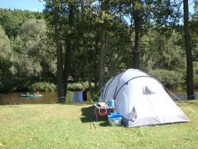 Tent in Camping Paradijs